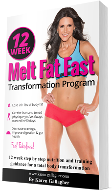 12 Week Melt Fat Fast Transformation eBook by Karen Gallagher