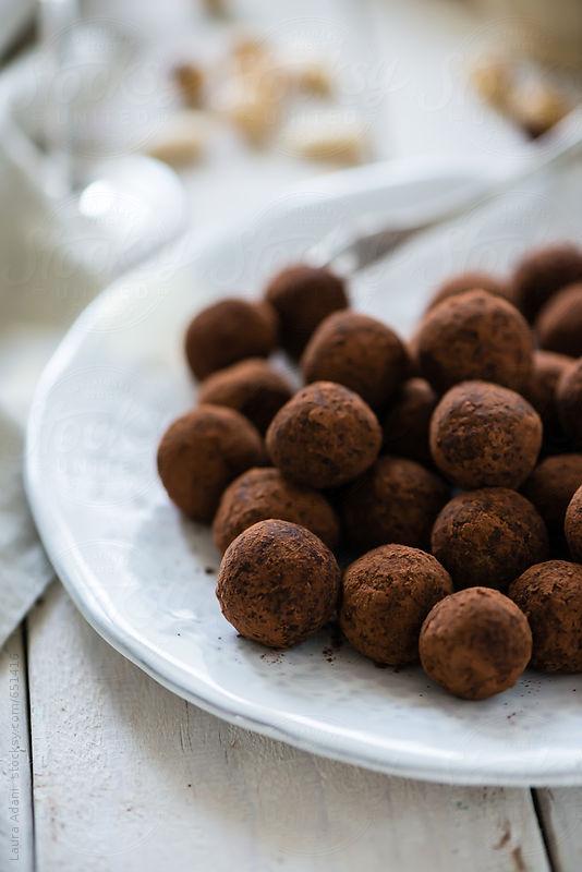 Dark Chocolate Avocado Truffles