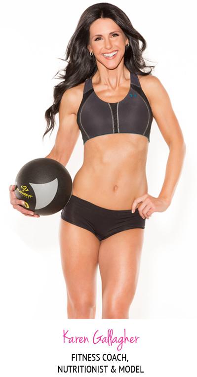 Karen Gallagher - Fitness Coach, Nutritionist & Model