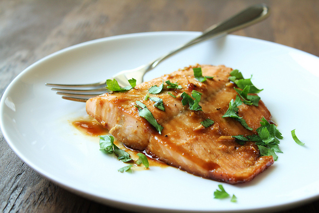 Maple Cilantro Salmon