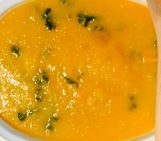 Adrenal Boosting ~ Gingered Sweet Potato Squash & Pear Soup