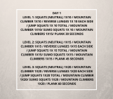 30 Day Squat Challenge – Day 1