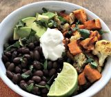 Black Bean and Sweet Potato Power Bowl